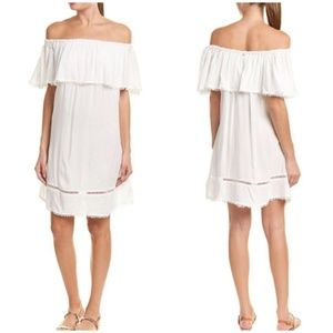 NWT Red Carter Ivory Beach/Swim Coverup Dress MED